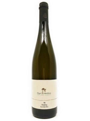 Hager Matthias Riesling Seeberg 2016 front