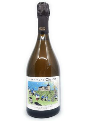 Champagner Chavost Blanc d'Assemblage Flasche