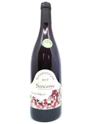 Sebastien Riffault Raudonas 2017 bottle